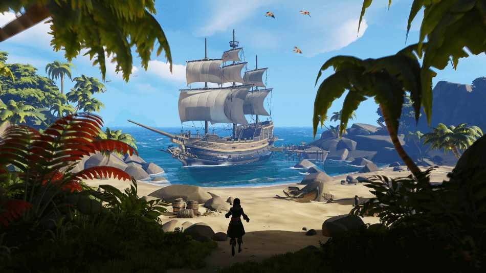 """Das bald erscheinende """"Sea of Thieves"""" versetzt Spieler in eine immersive Piratenwelt. Einen VR-Modus wird es laut Entwickler Rare trotzdem nicht geben."""