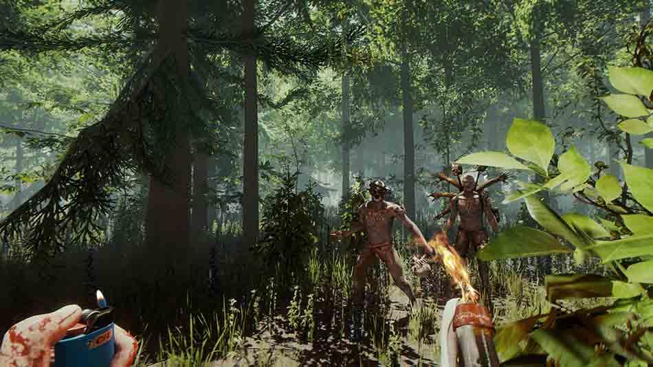 Das Survival-Spiel The Forest nähert sich der Fertigstellung. In einem Statusupdate verspricht das Studio neue Einzelheiten zum geplanten VR-Spielmodus.