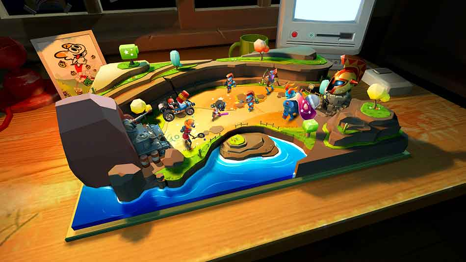 "Virtual Reality: Spielzeugscharmützel mit Suchtfaktor – ""Toy Clash"" im Test"