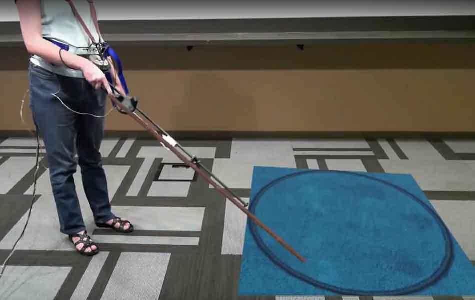  canetroller microsoft blind virtual reality
