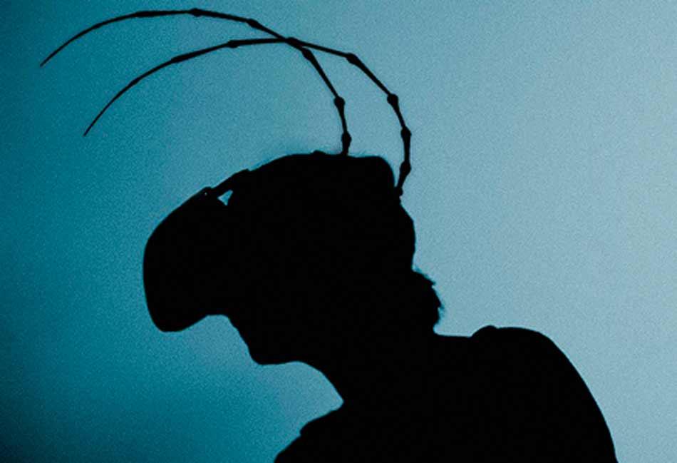 """Das PragerGoethe-Institut setzt Franz Kafkas Werk """"Die Verwandlung"""" für die VR-Brille um: Als virtueller Käfer untersucht man Gregor Samsas Zimmer."""