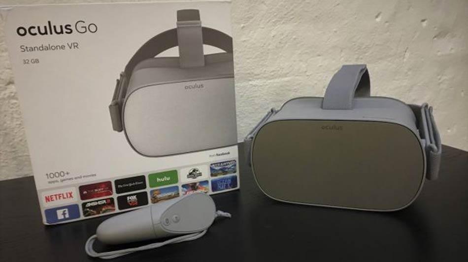 Facebook will einen Apple machen: Direkt zur Entwicklerkonferenz F8 am 1. Mai soll die neue VR-Brille Oculus Go erscheinen.