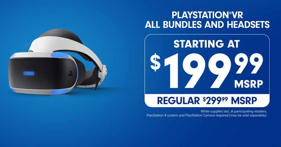 Ausverkauf oderaggressive Preispolitik? Sony bietet Playstation VR in den USA für nur 199 US-Dollar mit Kamera und Spiel an.
