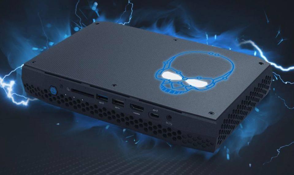 """Intel erweitert seine Mini-PC-Baureihe """"Next Generation of Computing"""", NUC, die im März erscheinenden Geräte sollen dank Intel/AMD-Kombiprozessor schnell genug für Virtual Reality sein."""