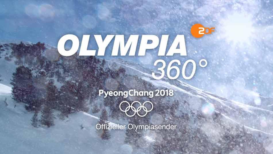 Das ZDF zeigt in der eigenen VR-App einige Olympia-Wettkämpfe, die mit Intels neuer Virtual-Reality-Kamera aufgezeichnet wurden.