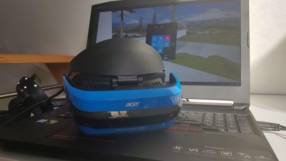 Virtual Reality ohne die Grenzen der eigenen vier Wände erleben: Das geht nur in speziellen VR-Arcades, mit teuren Laufmaschinen - oder Windows Mixed Reality.