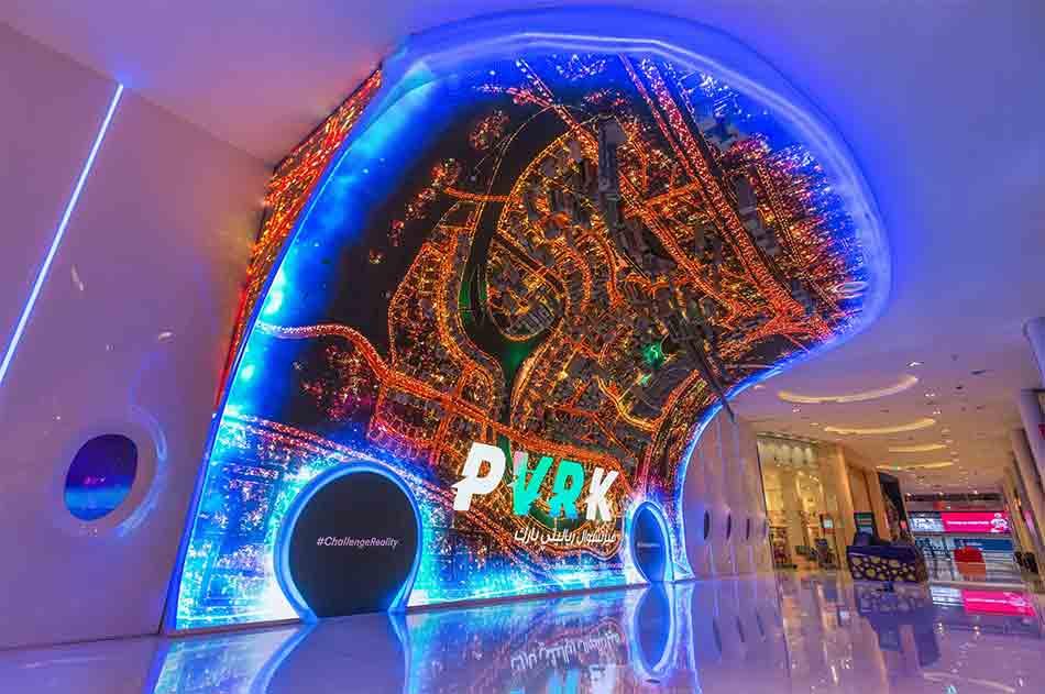In der Dubai Mall eröffnete die erste VR-Arcade auf einer Fläche von 7.000 Quadratmetern. Die Hauptattraktion ist die Highend-Brille StarVR.