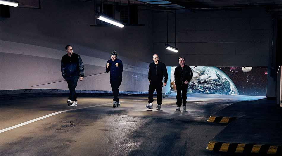 """Die Fantastischen Vier haben eine coole AR-App zu ihrer neuesten Single """"Tunnel"""" produziert. Voraussetzung ist ein iPhone oder iPad mit ARKit-Unterstützung."""
