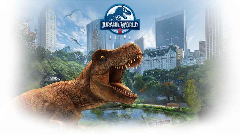 """""""Jurassic World: Alive"""" ist Pokémon Go mit Dinosauriern"""