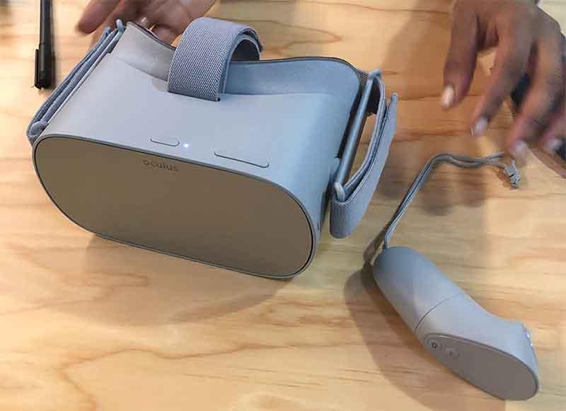 Auf der GDC konnte man zum ersten Mal Oculus Go ausprobieren. Ich habe mir die VR-Brille aufgesetzt und drei Launchtitel gespielt.