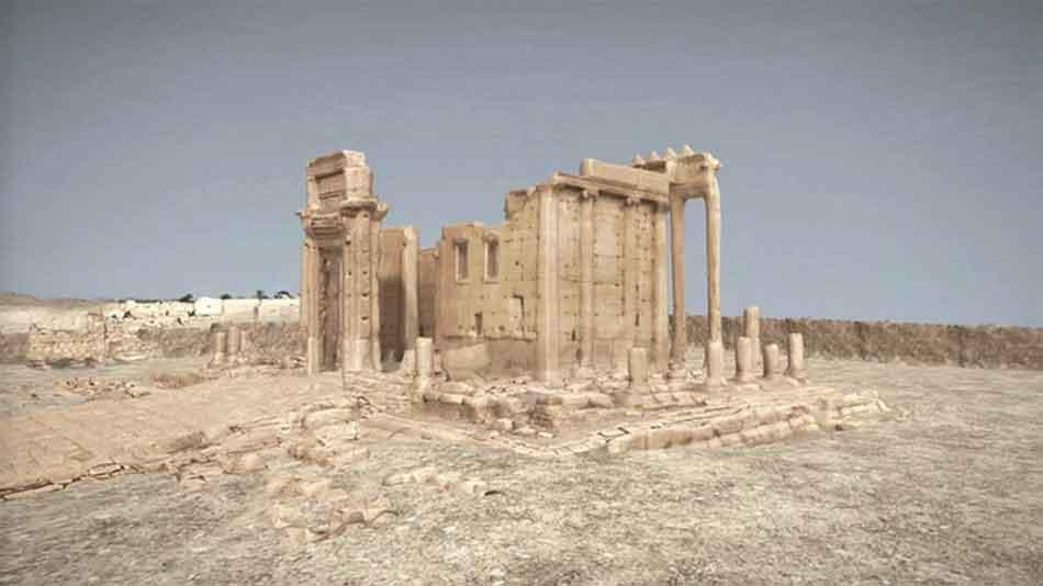 Fotogrammetrie lässt zerstörte Antikenstadt Palmyra wiederauferstehen
