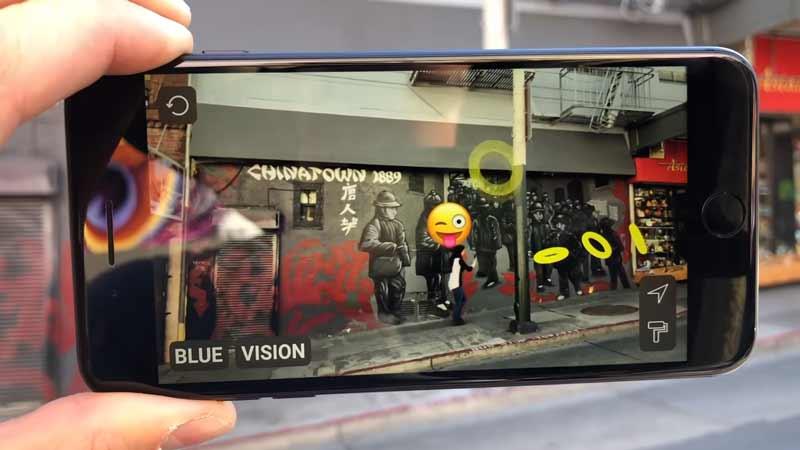 Googles steckt Millionen in das UK-Unternehmen Blue Vision Labs, das Augmented-Reality-Plattformen miteinander vernetzen und digitale Inhalte teilbar machen will.