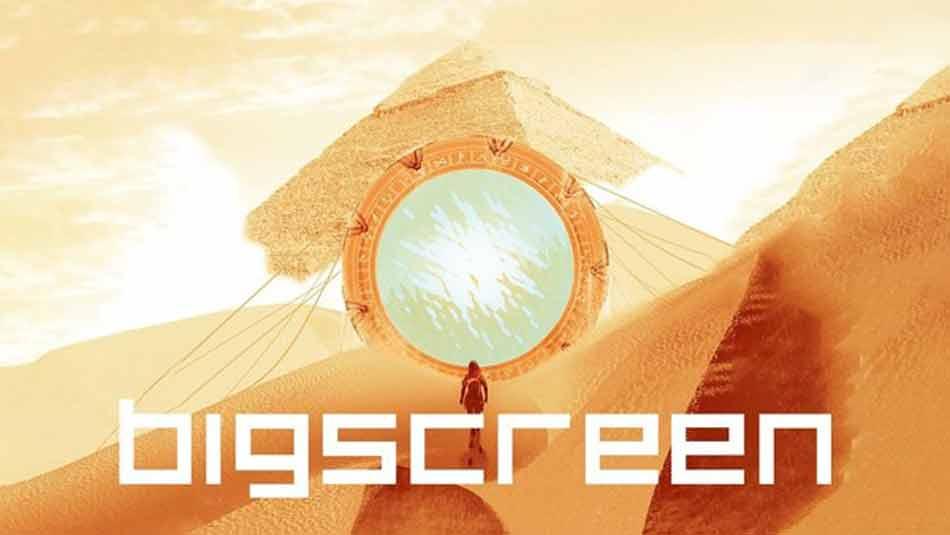 Der VR-Kinobetreiber Bigscreen lädt erneut zum virtuellen Gruppengucken ein. Diesmal läuft die Sci-Fi-Serie Stargate Origins.