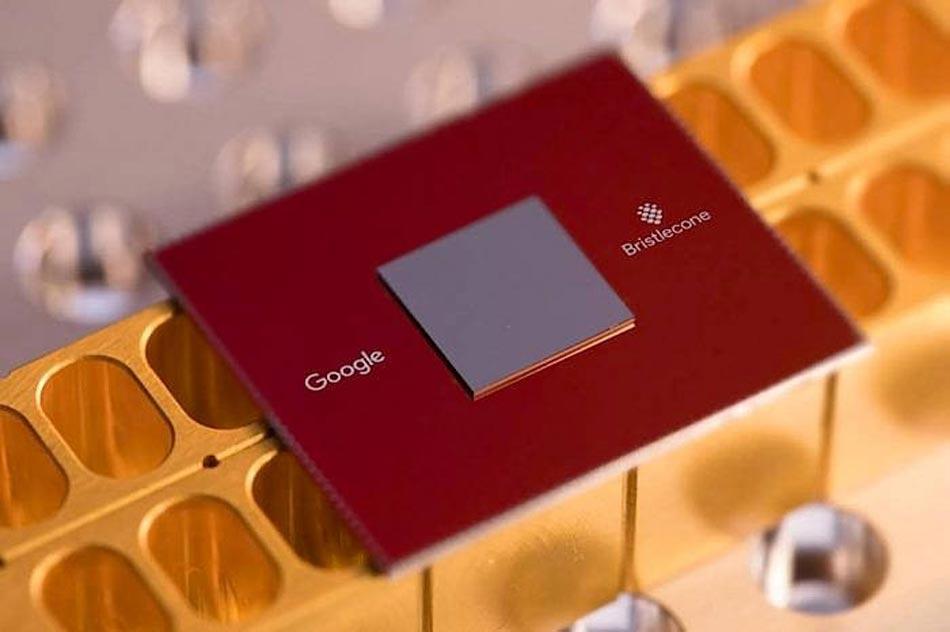 """Google stellt den weltweit schnellsten Quantenprozessor """"Bristlecone"""" in Ausblick."""