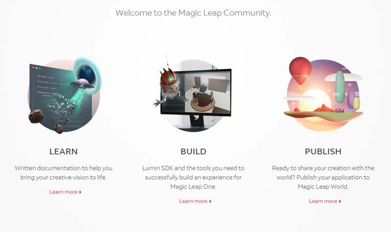 Magic Leap plant den Marktstart der Augmented-Reality-Brille Magic Leap One. Jetzt ist das Entwicklerportal online.
