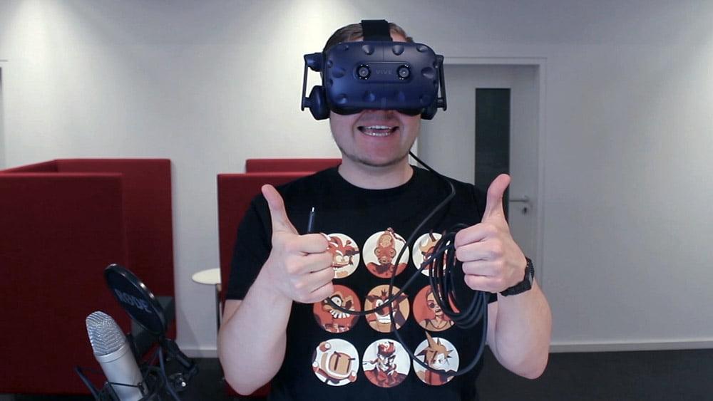Kommende Woche erscheint HTCs hochauflösende VR-Brille Vive Pro. Ich habe sie für euch ausgepackt, mit der Standard-Vive verglichen und schildere meinen Ersteindruck.