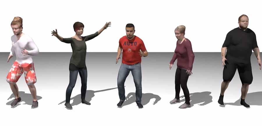 Forscher wollen mit Künstlicher Intelligenz 3D-Modelle von Menschen generieren, die anschließend in die Virtual Reality übertragen werden könnten. Das Verfahren begnügt sich mit einer herkömmlichen Kamera.