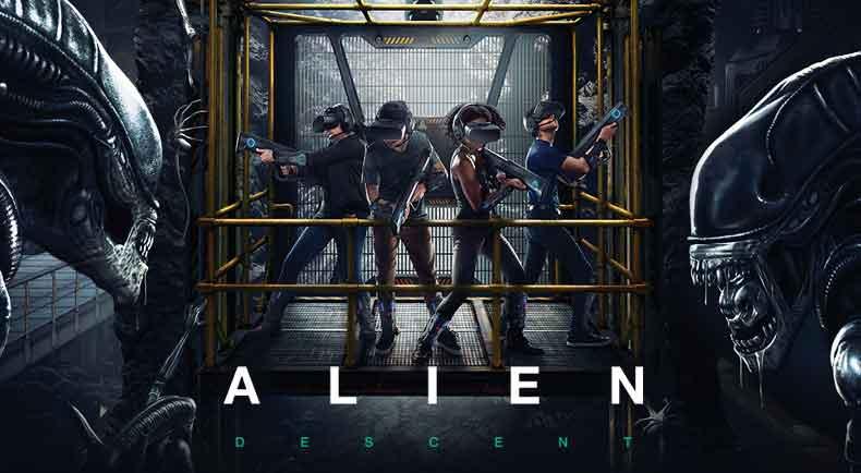 Bis zu vier Spieler gleichzeitig schlüpfen in die Rolle von Weltraumsoldaten und kämpfen gegen die außerirdische Spezies.