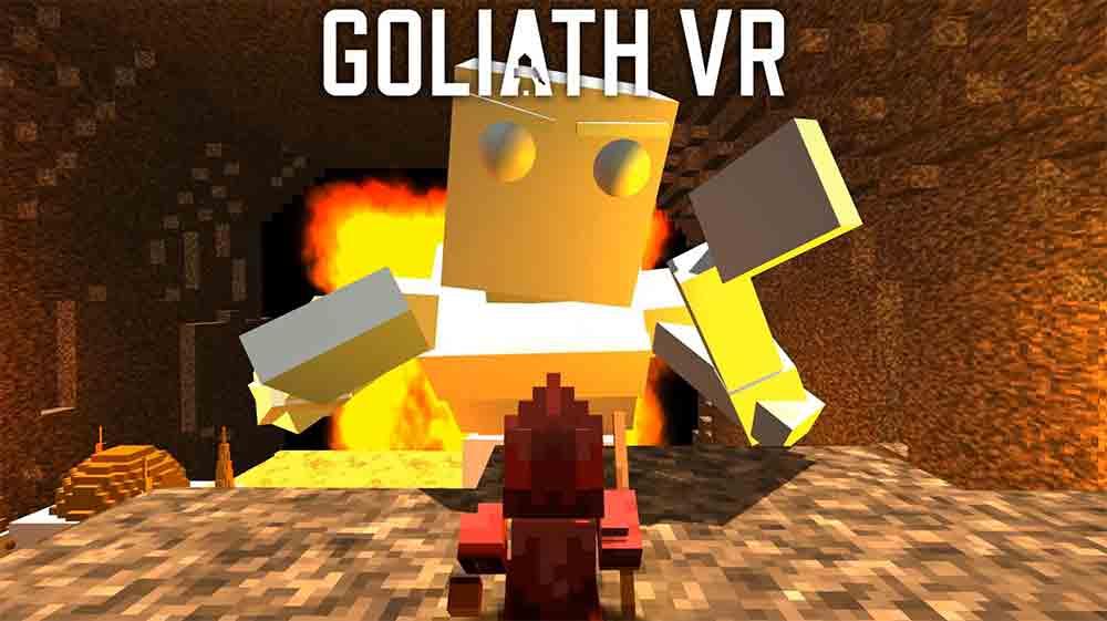 Spiele für den Monitor und für Virtual Reality: Das sind normalerweise zwei Welten für sich. Nicht so in Goliath VR.