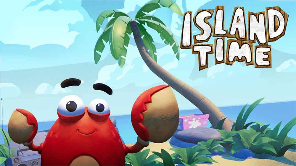 In Island Time stranden Spieler auf einer Karibikinsel und müssen mit Hilfe ihres Verstandes, vorgefundener Ressourcen und angeschwemmten Strandguts so lange überleben, bis Hilfe naht.