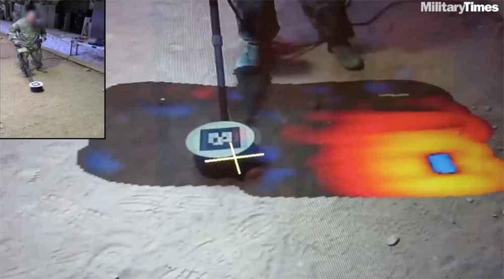 US-Militär: Augmented Reality macht Minen besser erkennbar