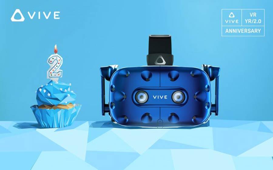 Planänderung bei HTC: Vive Pro gibt es schon zum Launch als Starterpack samt Trackingsystem und Vive-Controllern. Es ist allerdings das alte Zubehör von HTC Vive. Welche der Ankündigungen Europa betreffen, ist noch nicht klar.