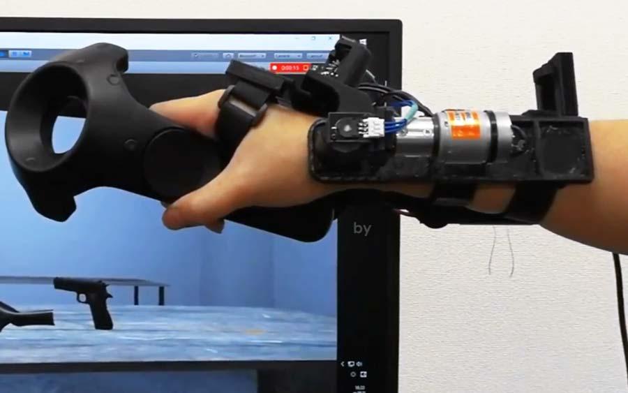Anfass-VR: Japanisches Unternehmen stellt neue Haptik-Handschuhe vor