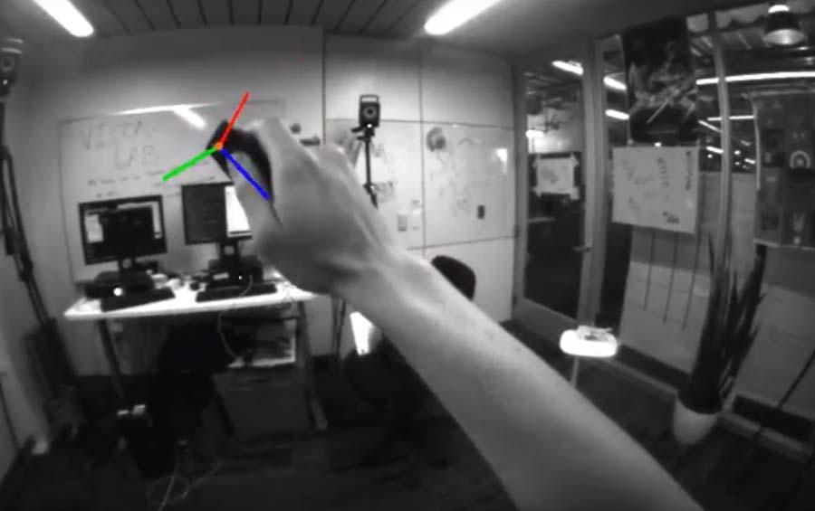 Google arbeitet daran, die größte Schwachstelle der autarken Daydream-Brillen zu schließen: Software könnte aus einem einfachen Dreh- und Schüttelcontroller einen vollwertigen VR-Controller mit sechsFreiheitsgraden machen.