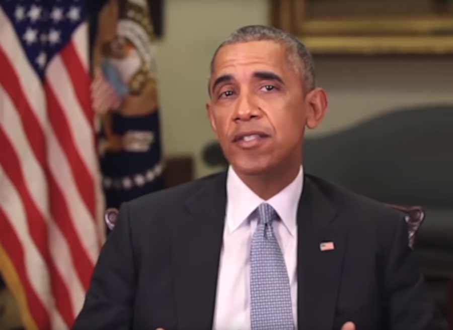 """Bei YouTube sagt der frühere US-Präsident Barack Obama dem aktuellen Amtsinhaber Donald Trump so richtig die Meinung: """"Du bist ein kompletter Vollidiot."""""""