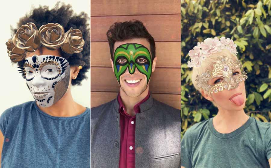 Augmented Reality: Snaps iPhone-X-Masken sehen ziemlich echt aus