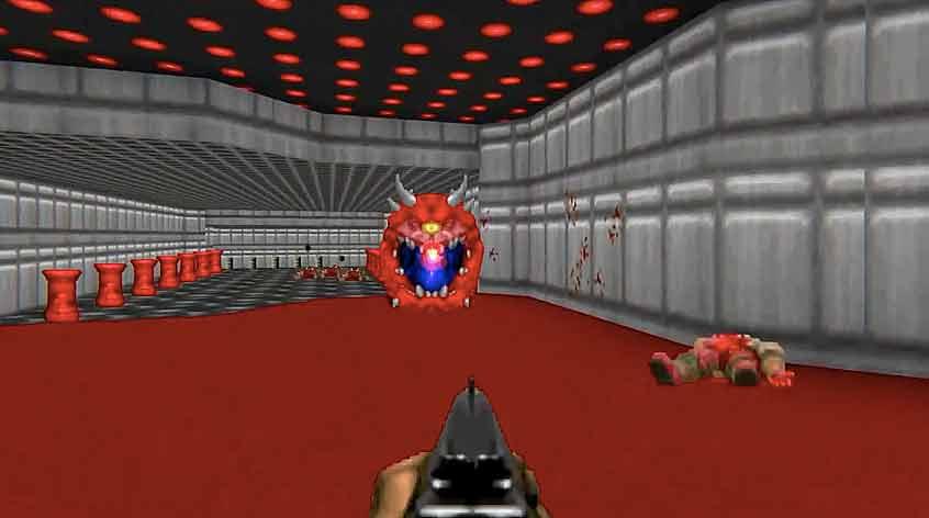 Forscher brachten einer KI bei, spielbare Doom-Level zu bauen. Die Technik könnte Entwicklern bei der Erstellung von Spielwelten unterstützen.