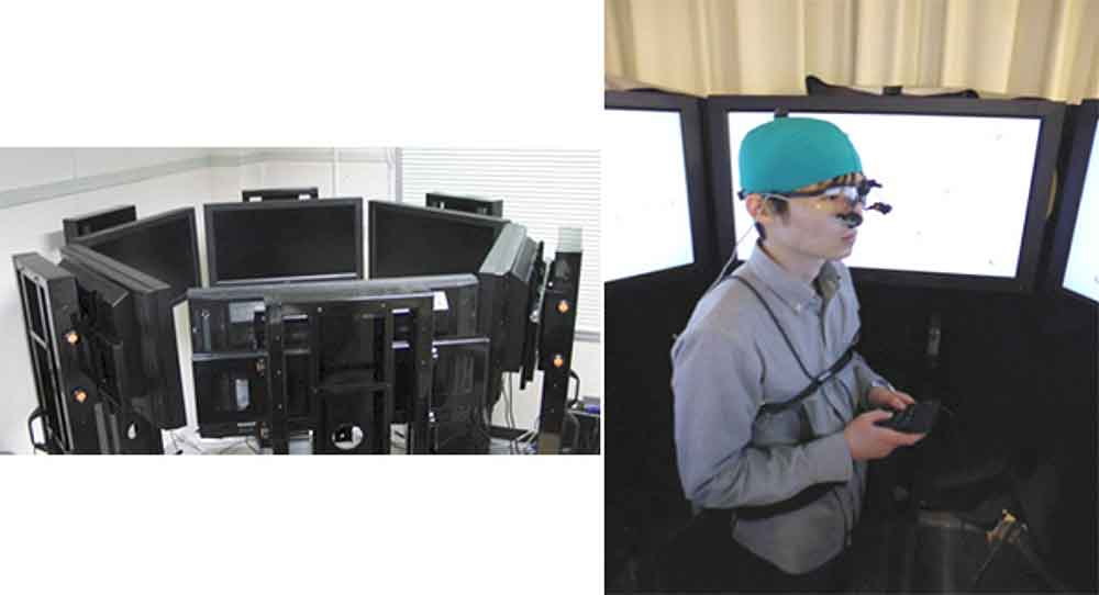 Experiment zeigt: Wir haben Augen im Hinterkopf