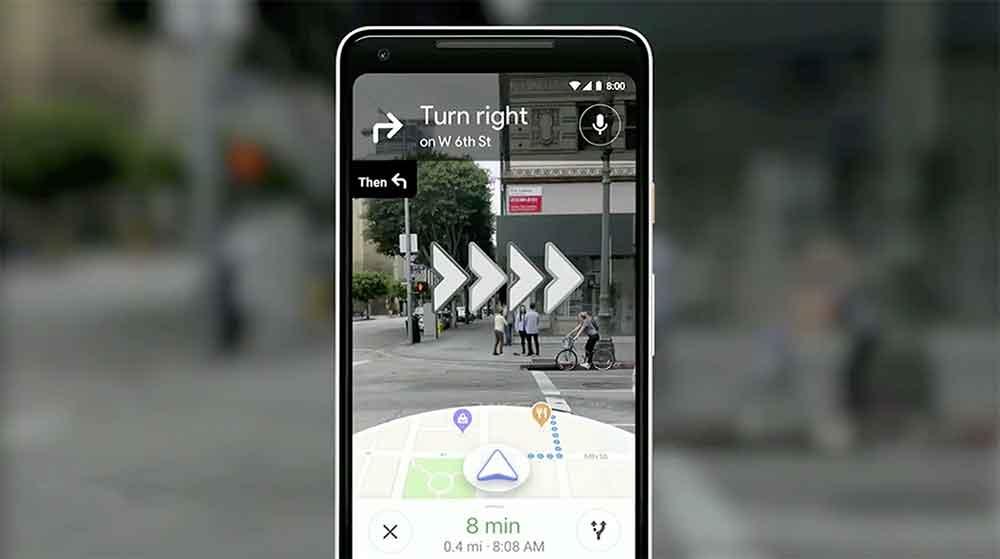 Auf der Keynote schwieg Google zu Virtual Reality. Dafür gab es Neuigkeiten zu ARCore, AR-Navigation in Google Maps und Objekterkennung mittels Google Lens.