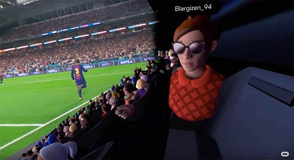Mit Venues können VR-Nutzer gemeinsam Live-Events beiwohnen. Das Angebot reicht von Sportveranstaltungen über Konzerte und Stand-Up-Comedy bis hin zu Filmvorführungen.