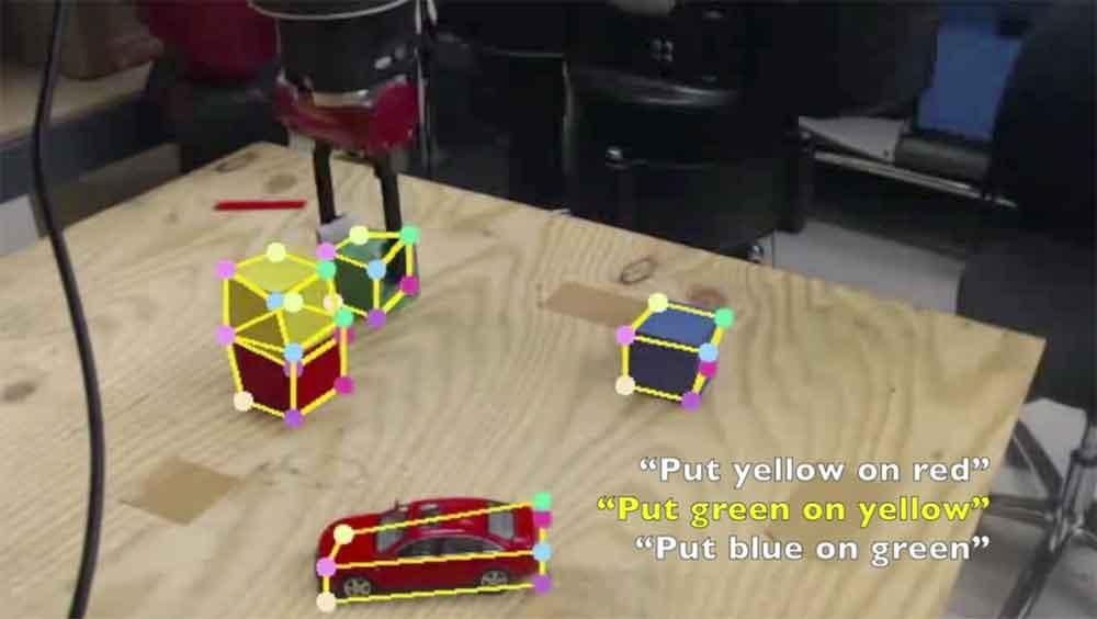 Einem Roboter Handlungsmuster einzuprogrammieren, ist ein zeitaufwendiger Prozess. Leichter wäre es, wenn die Maschine wie ein Mensch durch Beobachtung lernen könnte.