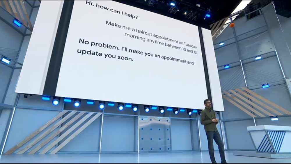 Googles Künstliche Intelligenz Duplex telefoniert im Auftrag ihres Besitzers und täuscht dabei die angerufene Person mit einer erstaunlich realistischen Fake-Stimme. Das führt zueinem Ethikproblem: Darf eine KI einen Menschen täuschen?
