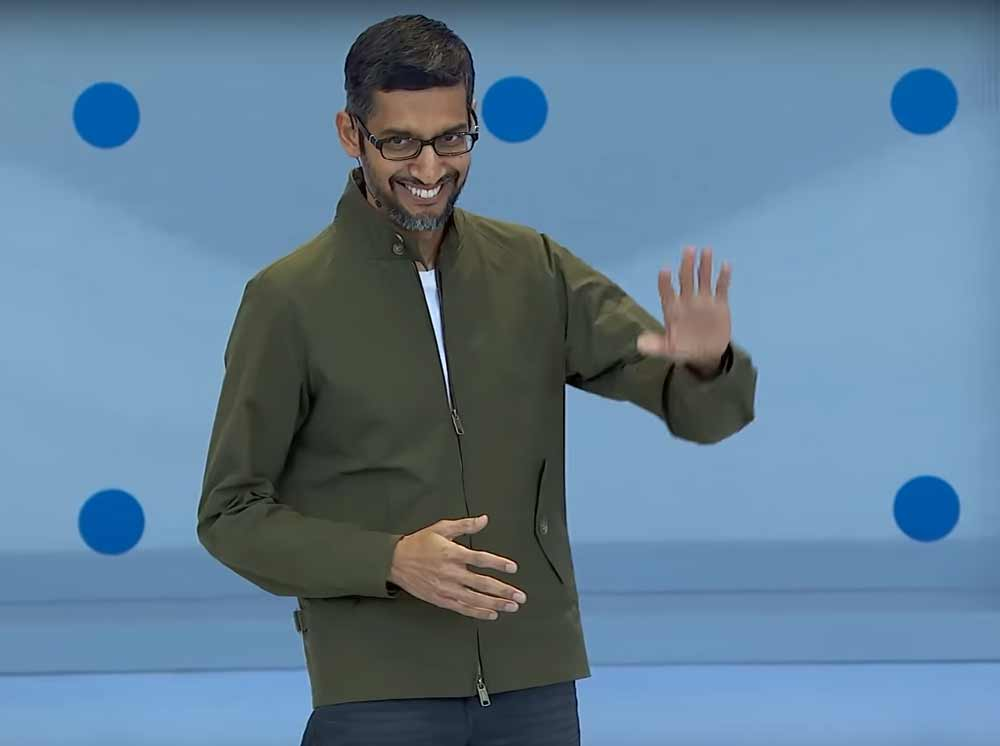 """Dinge ändern sich: Google schmeißt das inoffizielle Motto """"Don't Be Evil"""" aus dem Mitarbeiterhandbuch. Ist es eine Reaktion auf die internen Proteste gegen Googles Kooperation mit dem US-Militär?"""