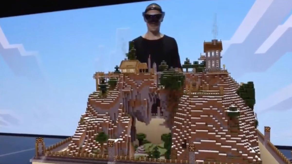 Hololens im Wohnzimmer: Das wird laut eines Microsoft-Sprechers nicht so schnell passieren. Kurz- und mittelfristig ist die Augmented-Reality-Brille weiter nur für Unternehmen gedacht.