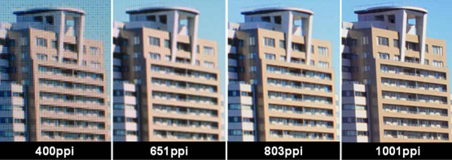 Neues Virtual-Reality-Display bietet über 1000 ppi auf 3,25 Zoll