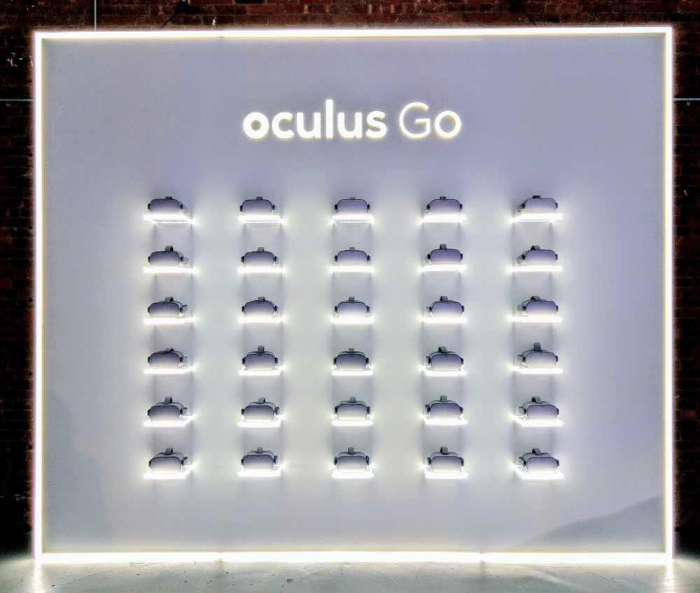 Oculus Go: Facebook eröffnet kurzzeitig Virtual-Reality-Laden in New York