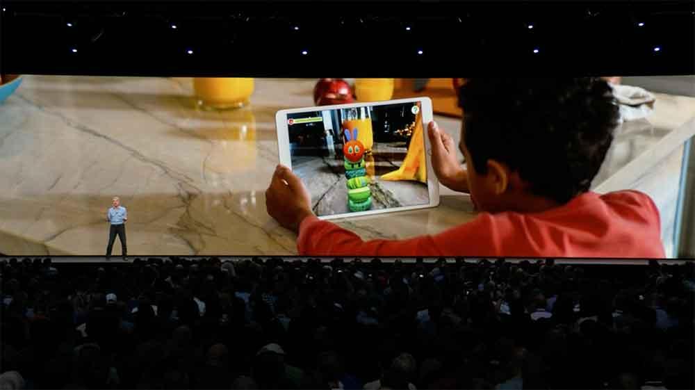Apple treibt die Entwicklung von Augmented Reality voran und stellt auf der WWDC ein neues AR-Dateiformat, geteilte AR-Erlebnisse und das Memoji-Avatarsystem vor.