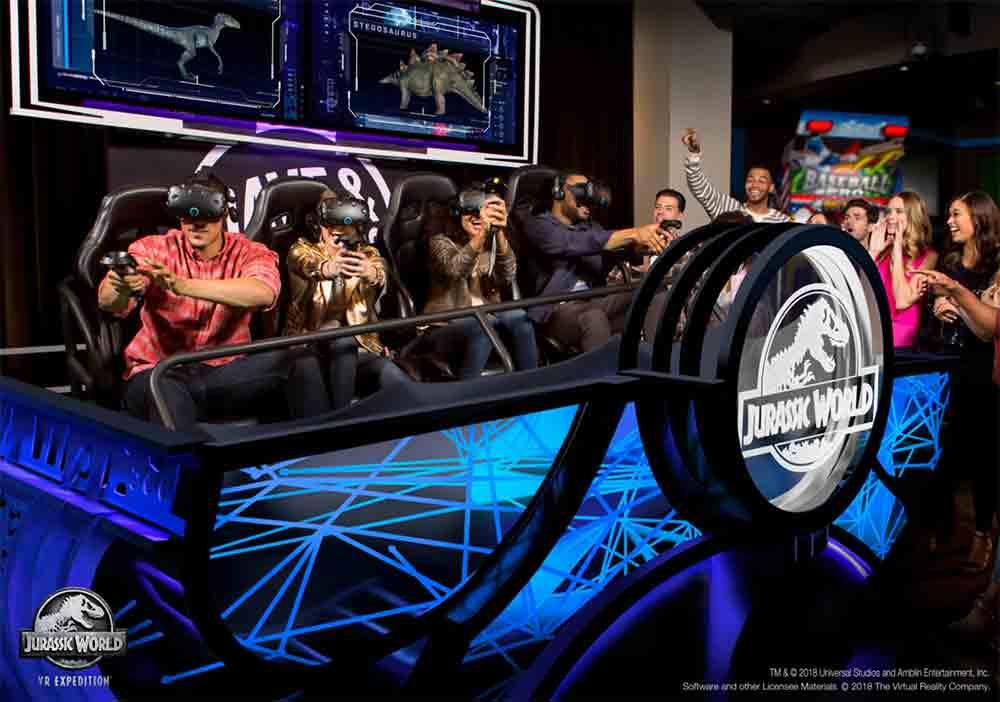 """VR-Arcade: """"Jurassic World VR"""" offenbar ein großer Hit"""