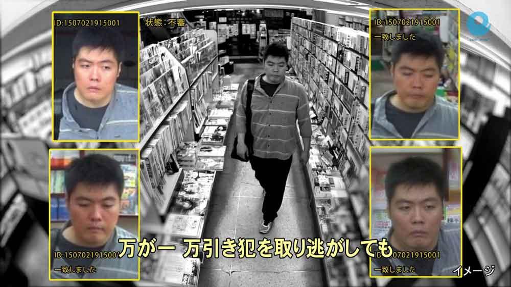 Eine Überwachungskamera der KI-Generation: Sie soll verdächtiges Verhalten möglicher Ladendiebe automatisch erkennen und beim Ladenbetreiber Alarm schlagen.