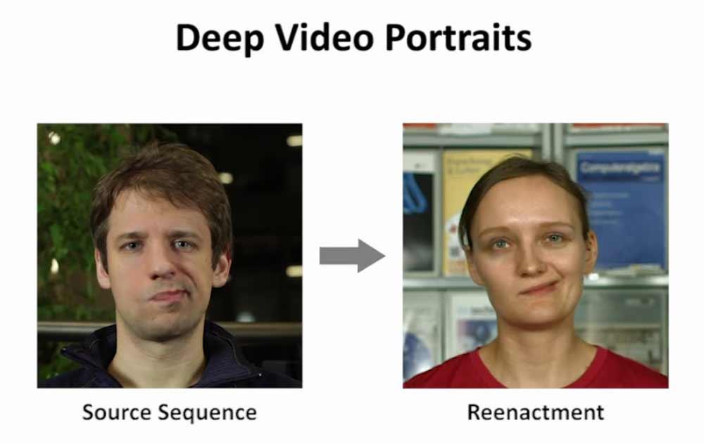 Hollywood verliert dank neuer KI-Verfahren das Monopol auf lebensechte Spezialeffekte: Forscher zeigen, wie man in Videos mit dem Gesicht einer anderen Person sprechen kann.