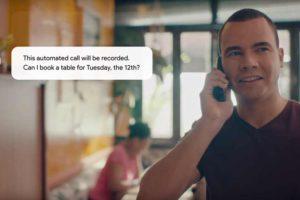 """Auf der Google Entwicklermesse I/O 2018 im Mai sorgte die Telefon-KI """"Duplex"""" für Szenenapplaus: Sie bucht auf Zuruf telefonisch einen Tisch im Restaurant oder einen Frisörtermin - und klingt dabei wie ein Mensch."""