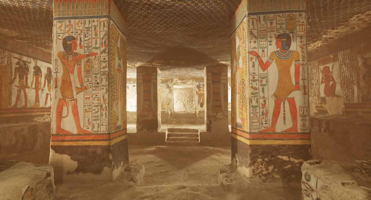 Das kann nur VR: Diese App beamt euch in eine ägyptische Grabkammer