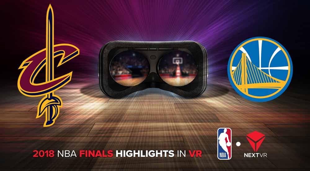 NextVR dreht an der Auflösungsschraube: Die 3D-Streams der NBA-Finalspiele sollen in der VR-Brille so schön aussehen wie keine 180-Grad-Übertragung zuvor.