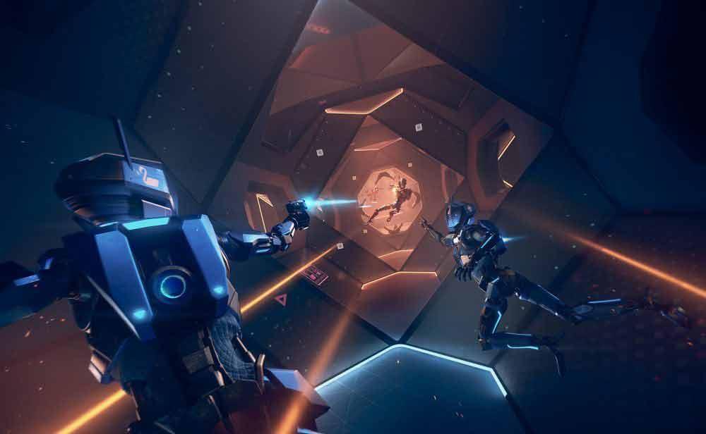 """Der Ballerableger """"Echo Combat"""" des beliebten VR-Sport-Spiels """"Echo Arena"""" startet bald in eine kostenlose Beta."""