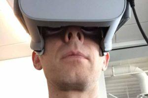 John Carmacks VR-Bastelstunde für Oculus Go: Unterstützung für Maus und Tastatur und mehr Blickfreiheit nach unten.