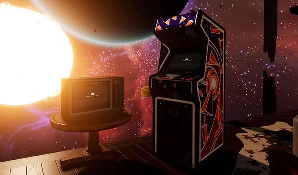 Man muss nur lange genug warten, dann bekommt man eine Arcade geschenkt. Bild: Oculus